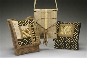 Three purses by Viki Dyan.