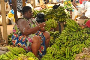 Banana Seller, southern Ghana