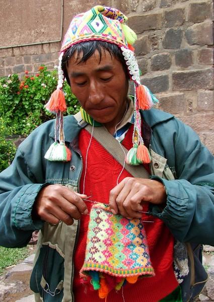 Master knitter!