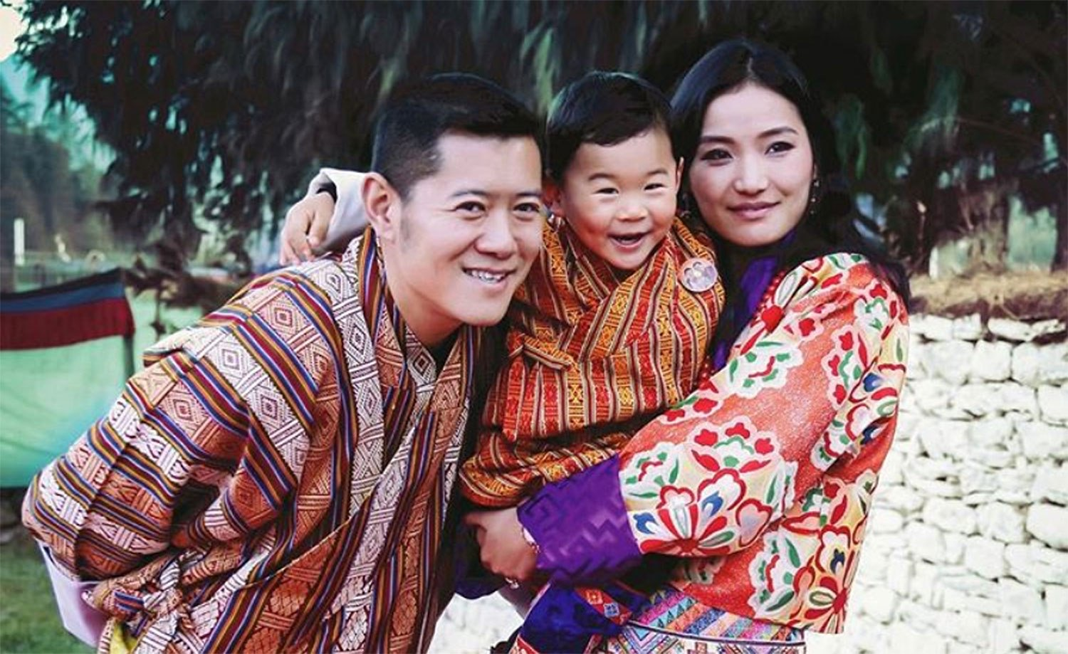 Royal family of Bhutan.