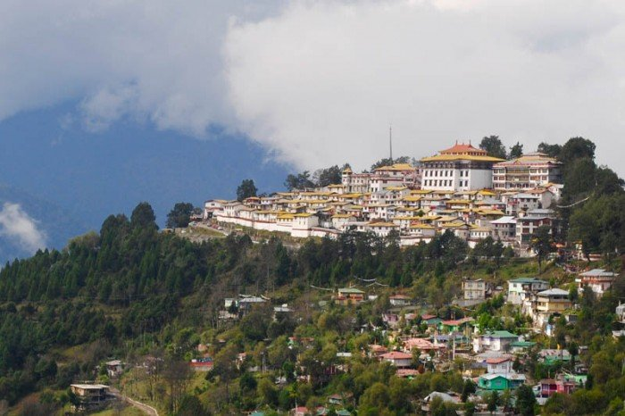 Six-hundred year old Tawang monastery built when this region was part of Tibet.