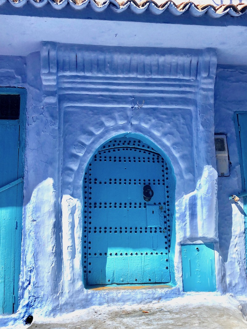 Blue city Chefchaouen Morocco