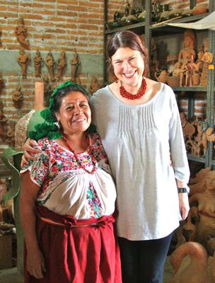 Clo & Jose's wife