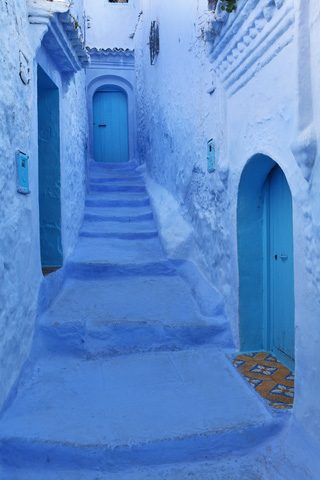 Textile tour crafts art and architecture small group travel Chefchaouen Morocco