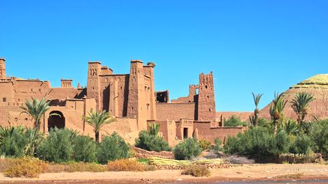 Ancient ksar in Morocco