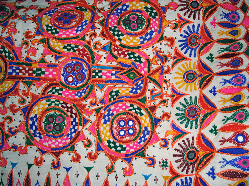 INDIA Embroidery  Behind The Scenes Adventures