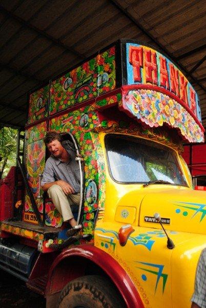 Steve-Painted Truck