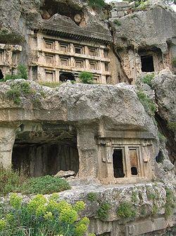 Tlos-tombs, Turkey