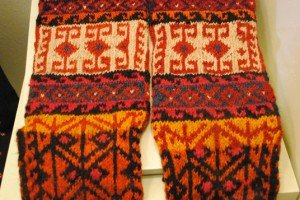 Hand-knit typical sox