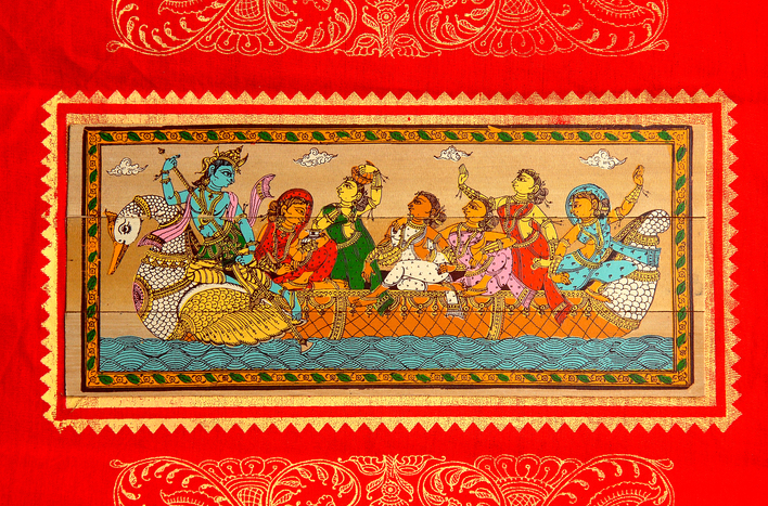 Pattachitra painting from Odisha