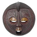 Wooden Mask; Senegal